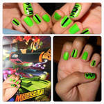 Mutt Nail Art by Chemicalkid728