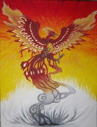 Phoenix by petthetoast