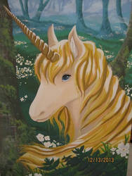 Unicorn by petthetoast