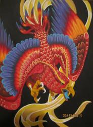 Phoenix Dive by petthetoast