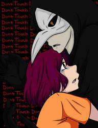 Don't Touch (never been hugged) by BakaIdiota
