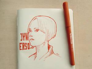Jyn Erso by catarinasbm