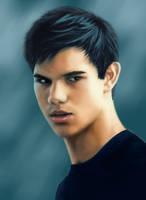 Jacob Black - digital drawing by TomsGG