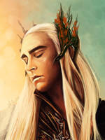 Thranduil - Lee Pace by TomsGG