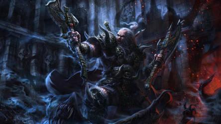 Diablo III Reaper of Souls - Barbarian by poibuts