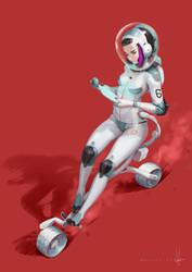 Mars Biker by poibuts