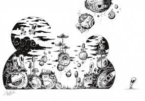 A Clowdy Awakening by JoseJDArg