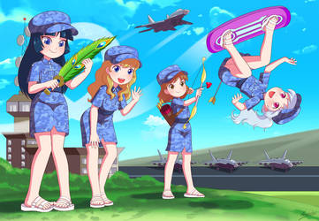 Air Loli Cadets Assemble! by RTCF