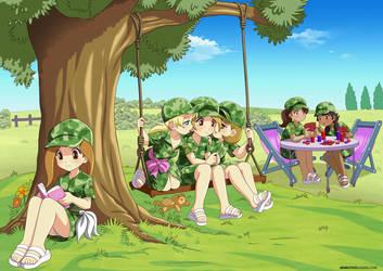 Land Loli Cadets Assemble! by RTCF