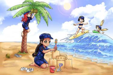 Ocean Loli Cadets Assemble! by RTCF