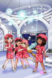 Space Loli Cadets Assemble! by RTCF