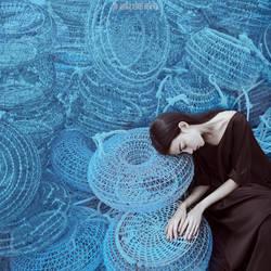 blue nets by ankazhuravleva