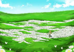 Flower field [Gift] by Yuminari
