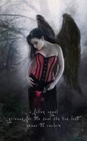 Mourning Angel by Phatpuppyart-Studios