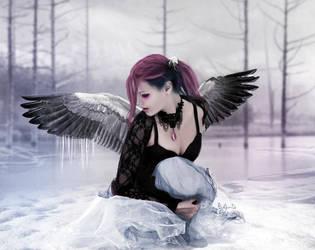 Frozen by Phatpuppyart-Studios
