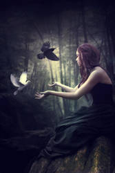 Angels or Demons by Phatpuppyart-Studios