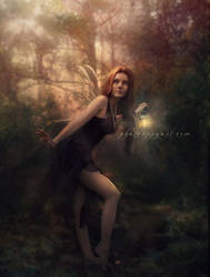 Sleeping Forest by Phatpuppyart-Studios