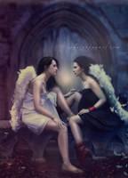 Soul Sisters by Phatpuppyart-Studios