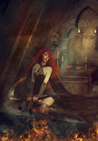 The Dungeon by Phatpuppyart-Studios