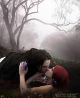Just One Kiss by Phatpuppyart-Studios