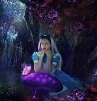 In Love with Wonderland by Phatpuppyart-Studios