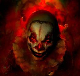 Tears of a Clown by Phatpuppyart-Studios