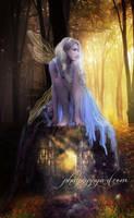 White Fairy by Phatpuppyart-Studios