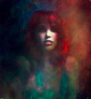 Watercolor Portrait by Phatpuppyart-Studios