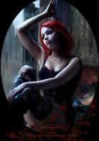 La Vie En Rose by Phatpuppyart-Studios