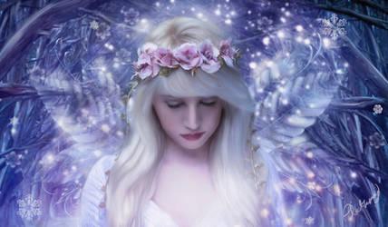 The Christmas Fairy by Phatpuppyart-Studios