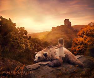 Pooh Bear by Phatpuppyart-Studios