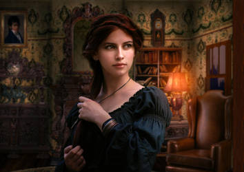The Lady Arabella by Phatpuppyart-Studios