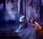One Halloween Night by Phatpuppyart-Studios