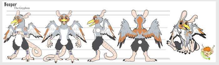 Beeper Character sheet by ArtyMadCow
