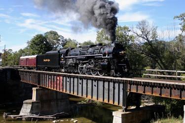 Steamer on the run by 3window34