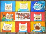 FAAAACES! of AdventureTime! by Khov97