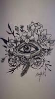 Eye Lineart Rotring by Khov97