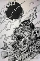 Gorilla Samurai by Khov97
