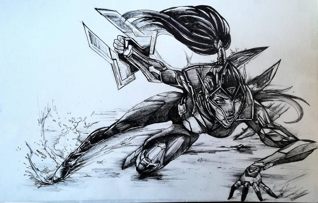 Project Vayne Inked by Khov97
