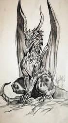 Guardian Dragon by Khov97