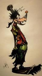 Goofy Halloween Kingdom hearts  by Khov97
