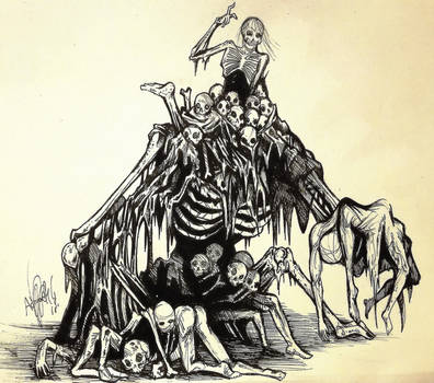 Rotten Pile of Corpses by Khov97