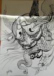 Japanese Snake Mask by Khov97