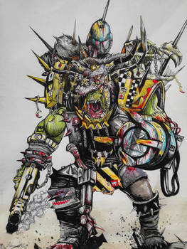 Mechanic Ork Warlord by Khov97