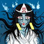 Japanese Horror Pixel Art by Khov97