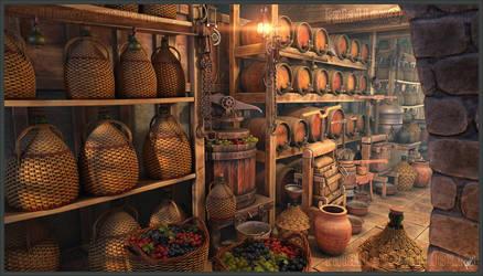 Wine Cellar by FataLLex