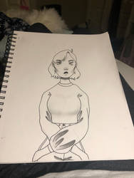Art homework (edited) by Salty0cean