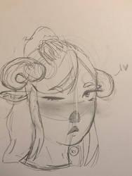 Art homework 2 + new characters! by Salty0cean