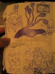 The fourth installment of my sCetchbook pages by Alberthein1