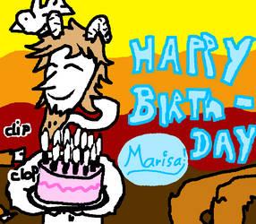 Birthday thing by Alberthein1
